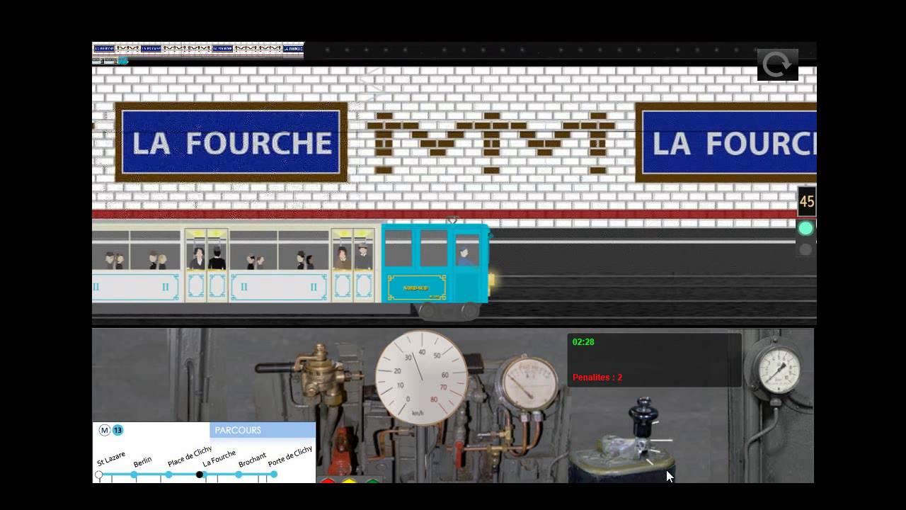 paris metro simulator delirs youtube. Black Bedroom Furniture Sets. Home Design Ideas