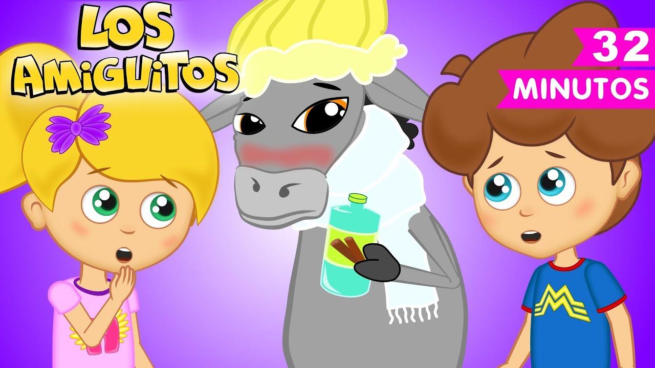 A mi burro canción infantil colección   Los Amiguitos Canciones Infantiles