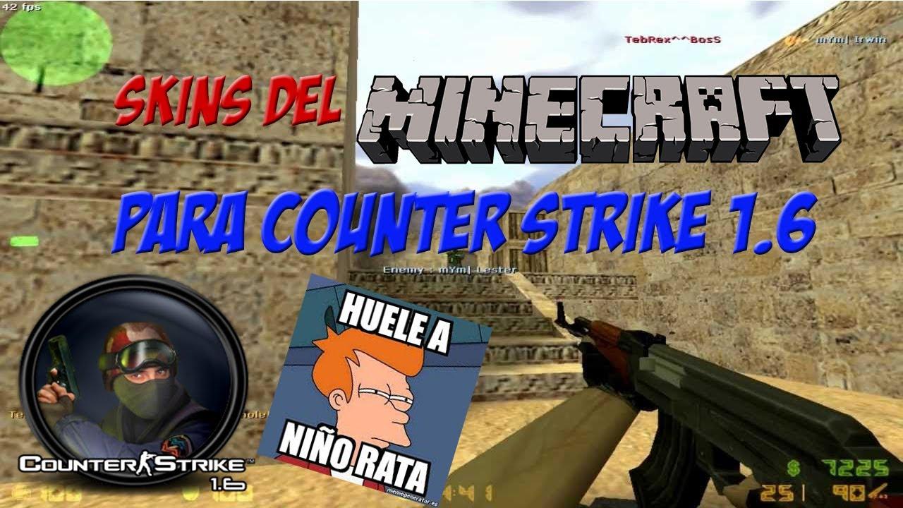 minecraft counter strike skins