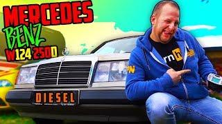 Unser 5Zylinder Diesel Projekt! - Mercedes W124 250D - Zeiten messen!