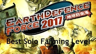 Earth Defense Force 2017 (Xbox 360) Best Solo Farming Level