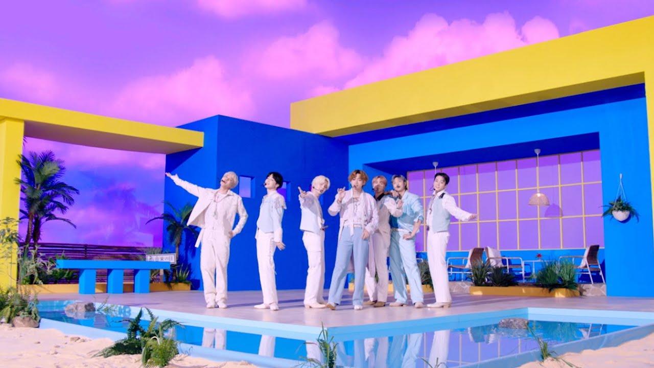 BTS (방탄소년단) 'Permission to Dance' @ ONGAKUNOHI 2021