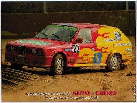 Ange MUÑOZ Drift -Auto-Cross Championnat de France- Faleyras  2005