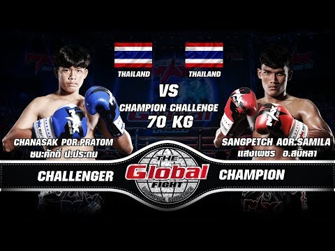 THE GLOBAL FIGHT CHAMPION CHALLENGE  I May 23rd, 2018