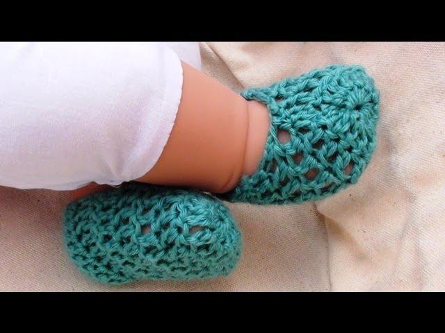 Summer Crochet Baby Booties By Crochet Hooks You Clipzui