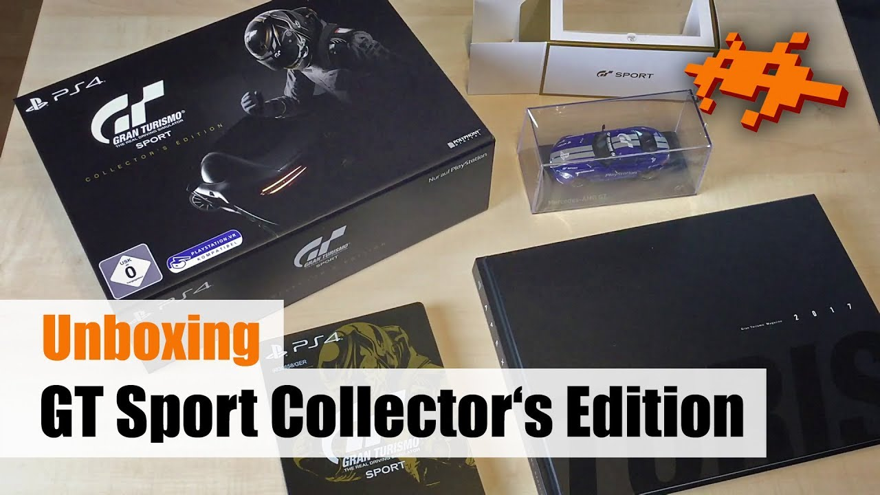 Unboxing Gran Turismo Sport Collectors Edition PS4 Deutsch