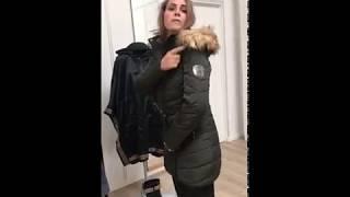 afa6308b8212 Ilse Jacobsen Women Down Winter Coat Dark olive