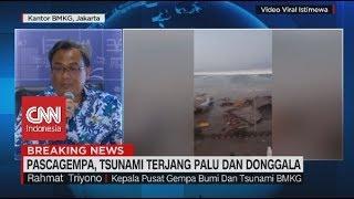 Video Tsunami di Pelabuhan Benar I Rahmat Triyono, Kepala Pusat Gempa Bumi & Tsunami BMKG