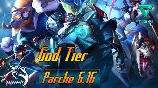 GUÍA   GOD TIER   LEAGUE OF LEGENDS   PARCHE 6.16