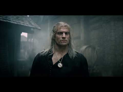 The Witcher Netflix - Fight Scene With Music From The Game
