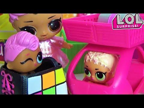 Куклы Лол Сюрприз! Мультик Lol Surprise Dolls Видео для детей Сборник смешных серий 3