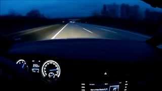 VW Golf 7 R chasing Porsche 911 Carrera (996)