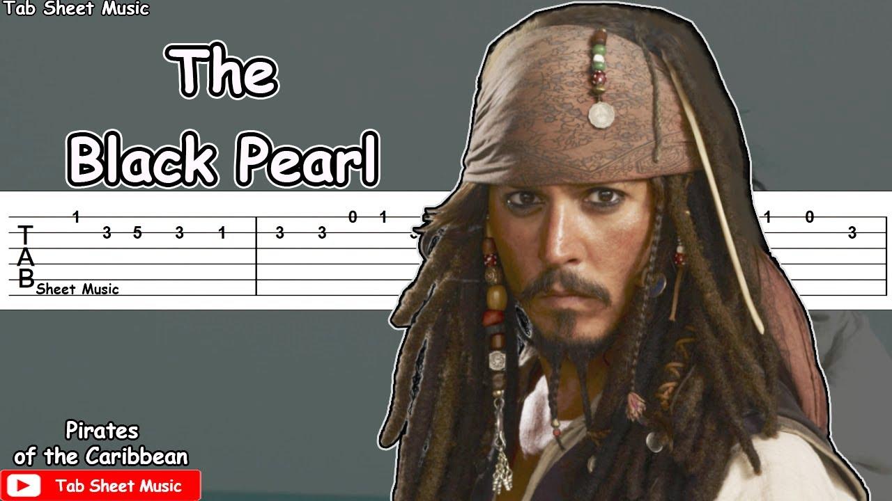 Pirates of the Caribbean - The Black Pearl Guitar Tutorial
