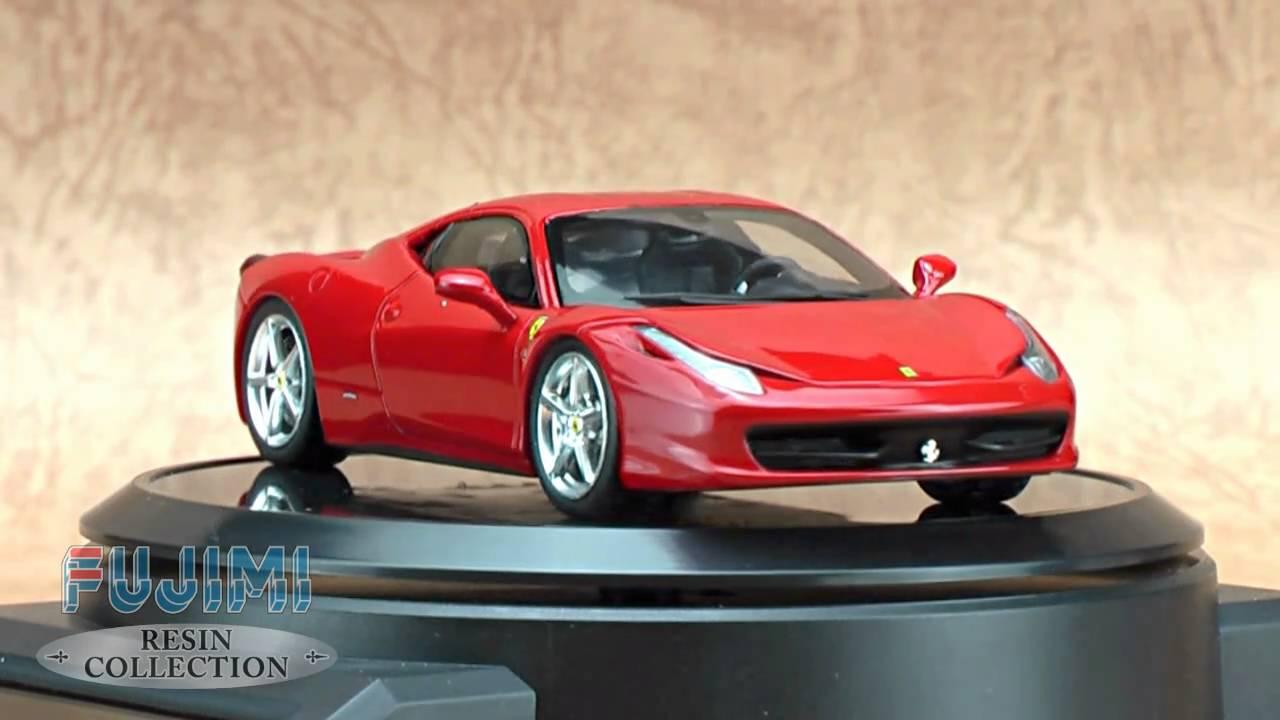 Fujimi Resin Collection Ferrari 458 Italia 2010 Rosso
