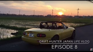 Sunrise Miata Drive In Real Initial D Area - Drift Hunter Japan Life Vlog #8