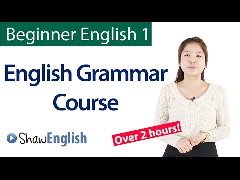English Grammar Course For Beginners:  Basic English Grammar