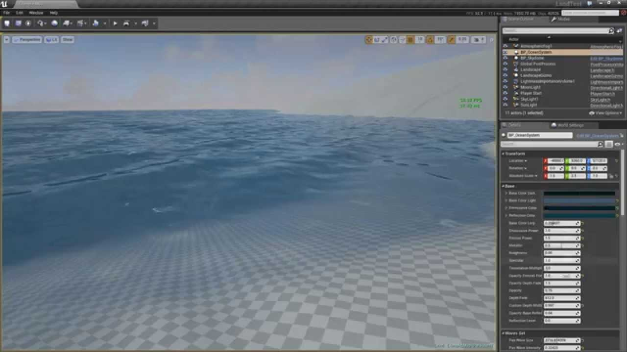 Community Project] WIP Weather & Ocean Water Shader - Unreal