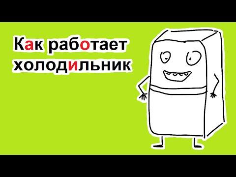 Как работает холодильник | самое простое объяснение