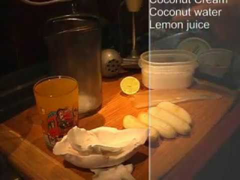 Healthy Food Recipe - Marshall Islands Smoothie with Aloe Vera