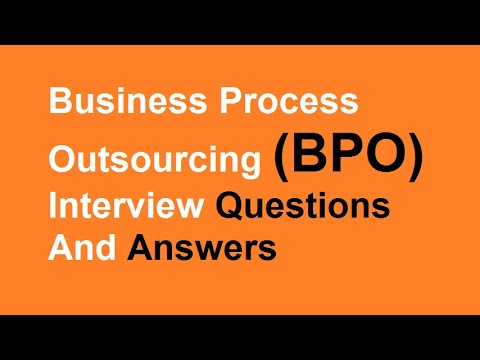 business process outsourcing bpo interview questions and answers - Bpo Interview Questions And Answers