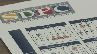 2021-22 calendar adjusted for the School District of Pickens County