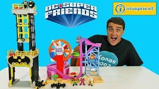 Imaginext DC Super Friends Gotham City Tower !    Toy Review    Konas2002