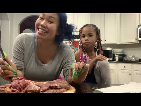 Mimi's good news and how to make steak n rice with leftover juicy crab