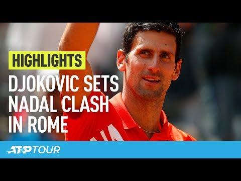 Highlights: Djokovic, Nadal Set Clash In Rome 2019 Final