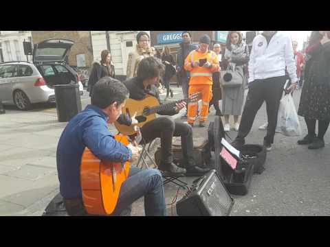 London portobello market flamenco