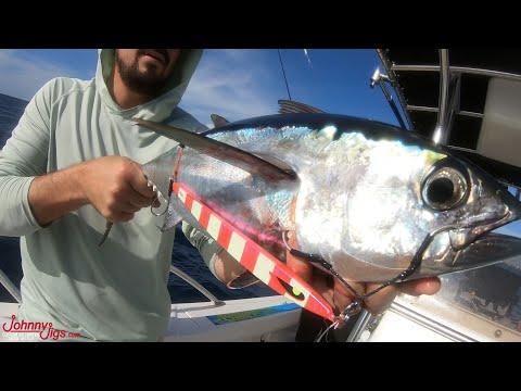 Slow Pitch Jigging Tuna And KingFish Florida Hook & Cook