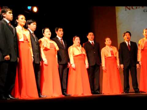 manila chamber singers Manila – – rene garcia, dennis garcia anak (child) – – freddie aguilar presented by philippine chamber singers of los angeles, gelo francisco, conductor.