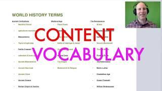 GOHMULTI ~ HISTORY MTEL 06 CONTENT VOCABULARY ~ GOHACADEMY.COM