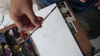 [ MOKOJO : ART ] : สอนวาดสีน้ำ (watercolor painting)