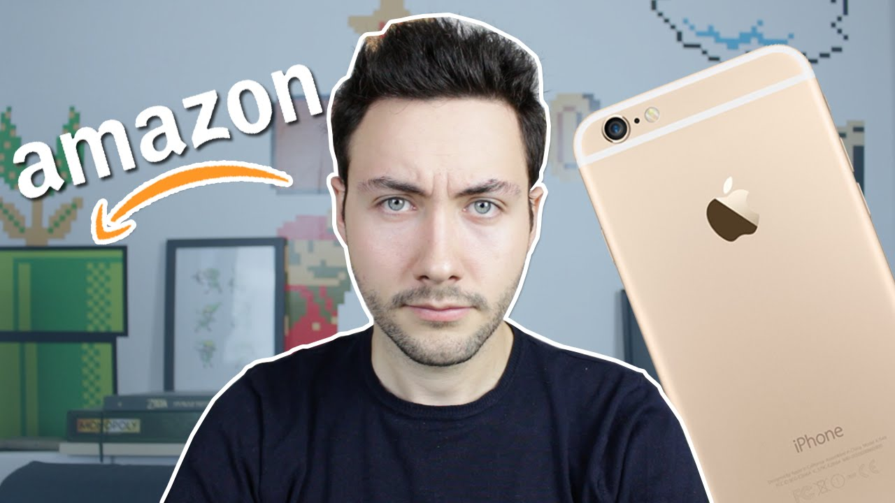 ARNAQUE IPHONE SUR AMAZON, FAITES ATTENTION !