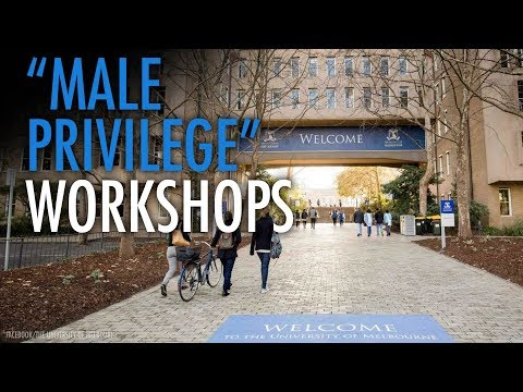 "Melbourne U runs ""white male privilege"" workshops"