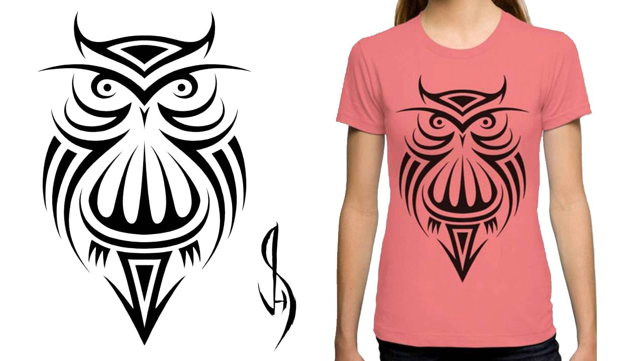 How i create a symmetrical design for a t shirt youtube for How to copyright at shirt design
