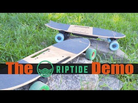 The RipTide Electric Skateboard Demo in NYC