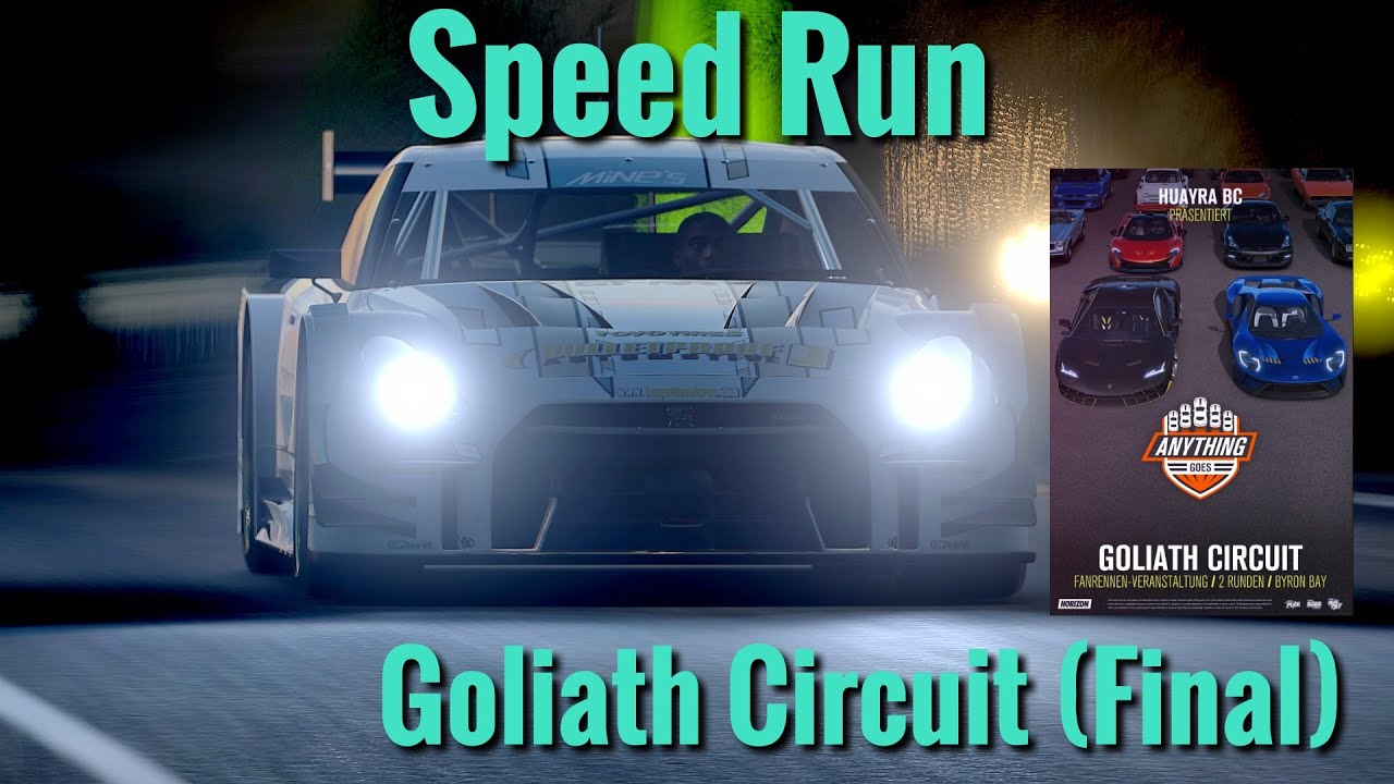 Forza Horizon Racecars First Run On The Goliath Youtube