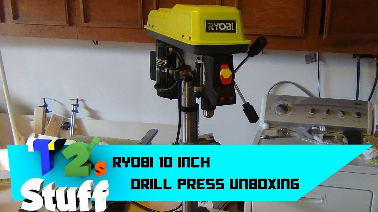 Ryobi 10 Inch Drill Press Assembly