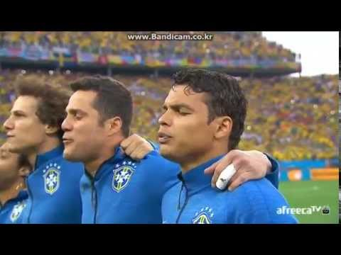 Brazil national anthem - 2014 Brazil worldcup (vs Croatia)