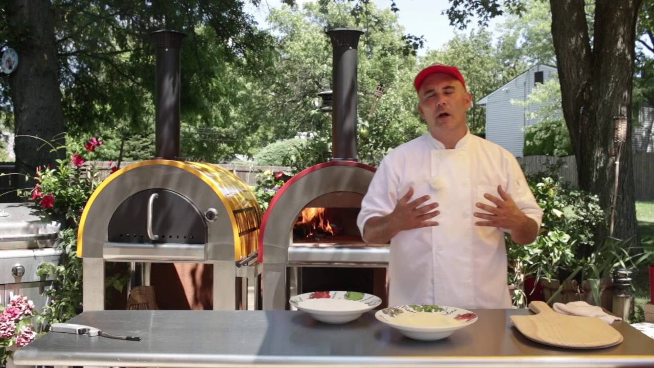 backyard brick oven forno bello series youtube