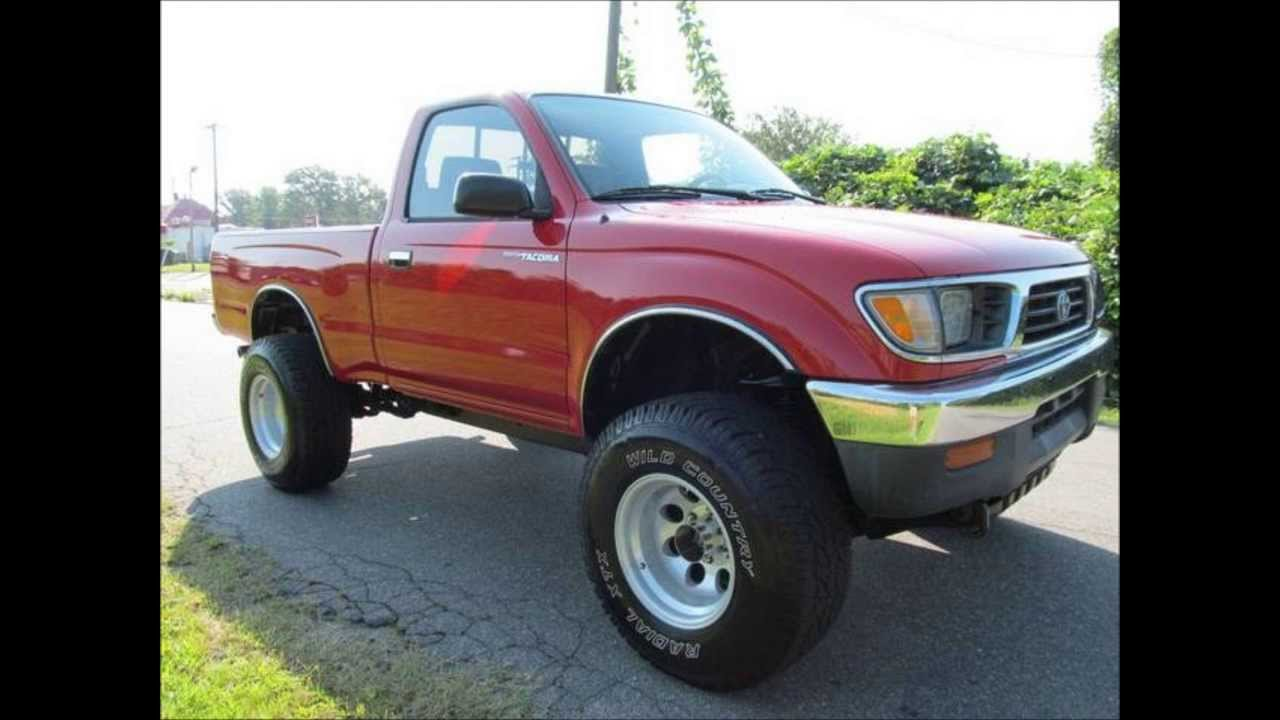 1996 toyota tacoma 4wd lifted truck for sale [ 1280 x 720 Pixel ]
