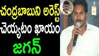 చంద్రబాబుని అరెస్ట్ YS Jagan Comments Arrest On CM Chandrababu AP Special Status  | Cinema Politics