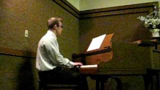 Jonathan Mahoney - Souviens-Toi (Piano and Vocals)