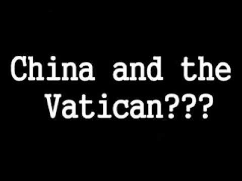 China meeting with The Vatican : What's goin' on?