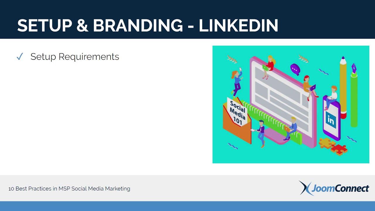 10 Best Practices in MSP Social Media Marketing