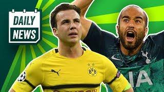 Nächste Champions League Sensation: Tottenham schlägt Ajax! Das neue BVB-Trikot! Alonso zu Bayern?