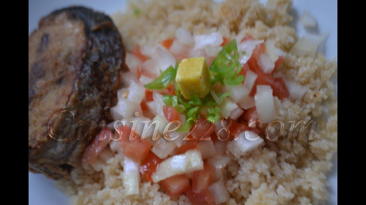 Recette Du Garba Attieke Thon Ivorian Cuisine YouTube - Comment cuisiner le thon frais
