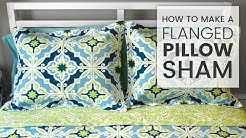 How to Make a Flanged Pillow Sham
