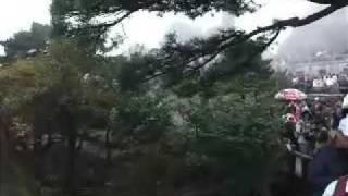 中国・黄山(『迎客松』付近)